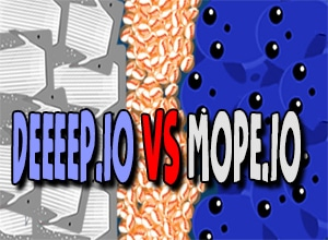 Photo of Mope.io vs Deeeep.io