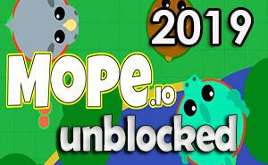 mope.io unblocked 2019